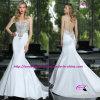 Платье платья венчания Mermaid тонкое сексуальное отбортовывая Bridal