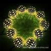 Luz psta solar da corda de 12LED Marrocos para a decoração do jardim (RS1001)