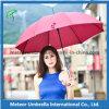 Parapluie ouvert automatique de cadeau de promotion de bâton de 23 pouces