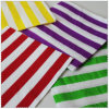 1/4 Eco-Friendly fois Party Striped Paper Napkin avec Color Printed