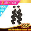7A Virgin 100% Peruvian Body Wave Remy Human Hair Extensions in 22 ''