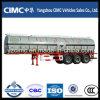 Cimc drei Radachsen-Asphalt-Transport-Tanker-Schlussteil