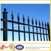Crear la cerca galvanizada del hierro para requisitos particulares labrado