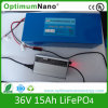 Batteria elettrica 36V 15AH della bici LiFePO4