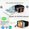 relógio esperto de 3G WiFi com Bluetooth 4.0 (QW09)