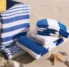 Полотенце 100% гостиницы полотенца пляжа нашивки хлопка