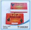 Cartão plástico dos residentes do cartão do PVC do cartão do cartão da impressão