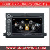 GPS, Bluetooth를 가진 Ford Explorer (2006-2011년)를 위한 특별한 Car DVD Player. A8 Chipset Dual Core 1080P V-20 Disc WiFi 3G 인터넷 (CY-C148로)