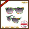 Óculos de sol plásticos baratos da venda F5809 quente