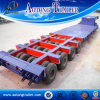 Schlag Price Multi Axles Low Bed Semi Trailer für Sale