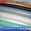 Tuyau coloré d'aspiration de spirale de PVC avec la qualité
