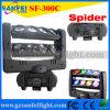 Éclairage principal mobile d'étape de faisceau de l'araignée LED de 8 yeux (SF-300C)