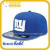 Приспособленная голубая крышка шлема Snapback футбольных болельщиков вышивки (HH032YLJ)