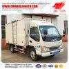 4X2 Chassis JAC 5 van de Lichte van de Lading Ton Vrachtwagen van de Doos voor Verkoop