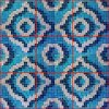 Azulejo de la pared del mosaico del vidrio de modelo de mosaico (HMP720)