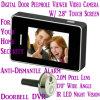 2.8  LCDのタッチ画面のデジタルドアのふし穴の視聴者のドアベルのビデオ・カメラのレコーダーのアクセス制御DVR