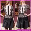 2014 neues Ariver rundes Kragen-Spitze-Reißverschluss-Kleid/Partei-Kleid