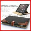 Крышка случая кожаный бумажника застежка-молнии франтовская для iPad Apple (IPDLERS2)