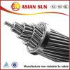 Conductor de aluminio reforzado acero eléctrico de arriba del Mcm del conductor 477 del cable ASTM de ACSR
