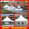 Freies Dach-transparentes sechseckiges Hexagon-Pagode-Zelt in Guangzhou