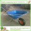 Carrinho de mão de roda plástico do trole do jardim do Cheep vendável (WB5204P)