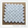 Blanco Carrara de mármol del mosaico (linterna)