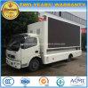 Diodo emissor de luz de Dongfeng 4X2 que anuncia o veículo caminhão móvel do estágio de 6 T