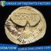 記念品のギフトのための3D金張りの金属の挑戦硬貨
