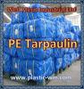 PE Geteerd zeildoek, de Materiële, Waterdichte Openlucht Plastic Dekking van de Tent, Blauwe PolyTarp, HDPE Stof