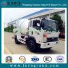 Misturador concreto do caminhão dos medidores cúbicos de Sinotruck Cdw 5