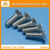 Tornillos de socket principales planos de la talla métrica de oro del surtidor A2 del acero inoxidable