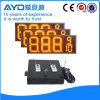 Hidly 12 인치 황색 방수 LED 주유소 표시