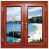 Dekorativer Fenster-Gitter-Aluminiumprofil-Tür-und Fenster-Entwurf für