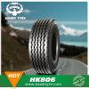 neumático sin tubo de acero del carro pesado del neumático del neumático de 385/65r22.5 TBR