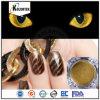 Polvo magnético caliente del pigmento del cromo del ojo de gato de la manera