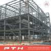 Almacén modificado para requisitos particulares 2015 casas prefabricadas de la estructura de acero del diseño de Pth