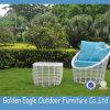 Sofà bianco S0233 stabilito del rattan del patio di colore