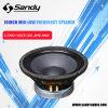 Xd1065156-10 인치 콤팩트 200RMS 직업적인 확성기 저음 스피커