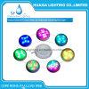 18W 12V impermeáveis decoram a luz da piscina do diodo emissor de luz Underwaer da cor