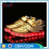 安いカスタム最もよい品質のダンスLEDの靴中国製