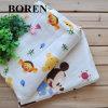 100% algodón estampado gasa de tela suave y cómoda para el bebé del paño y bufanda