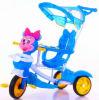 Il triciclo di bambini scherza il triciclo di Trike del bambino con la figura di plastica