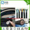 Cable flexible aislado caucho multi 300/500V de las memorias de la fábrica