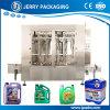 Olio lubrificante del rifornimento della fabbrica//Liquid detersivo che riempie la riga di coperchiamento della macchina