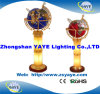 Hete Yaye 18 verkoopt de Bol van de Halfedelsteen van de Verlichting van de Lamp van de Vloer/de Bol van de Halfedelsteen met de Bol van de Wereld van de Verlichting met Verlichting (yaye-st-L021A)