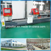Machines en aluminium de processus de trappe de guichet en aluminium