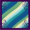 Neue Auslegung-Form-stilvolle Seide gedruckter Schal (44)