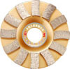 Diamante Sintered Cup Wheels Blade para Stone