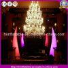 Hete LEIDENE van de Decoratie van de Club van de Gebeurtenis Lichte Opblaasbare Slagtand