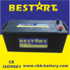 Batería grande 150ah 12V N150-Mf del carro de la talla de la alta calidad
